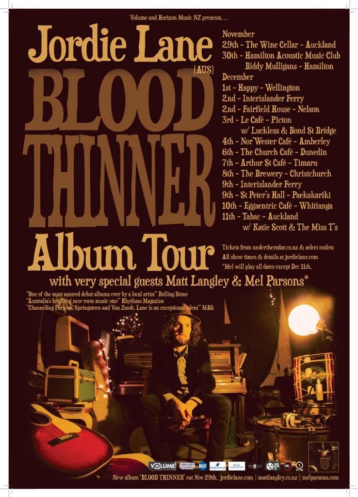 Jordie Lane - Blood Thinner E.P.